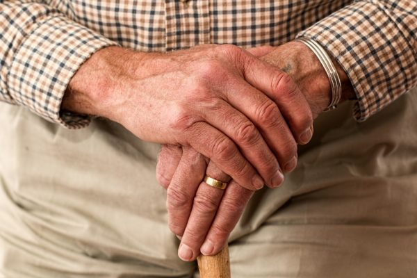 old man skin care